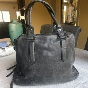 Black/Gray Purse - Great Condition!